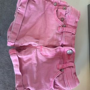Girls tractr shorts in pink size 3